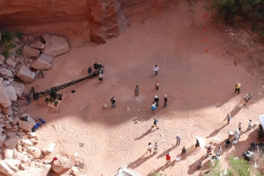 The Canyon, on location in Moab, Utah