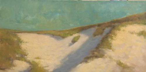 Original impressionist oil landscape painting by Steve Allrich