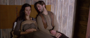 Josh Peck and Elisa Lasowski in The Timber