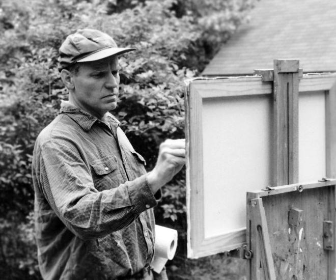 Steve-Allrich-artist-painting